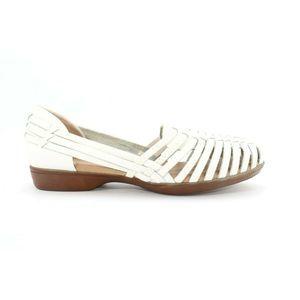 Tejidas Tampa  Sandals White Size  7.5 Wide -4042